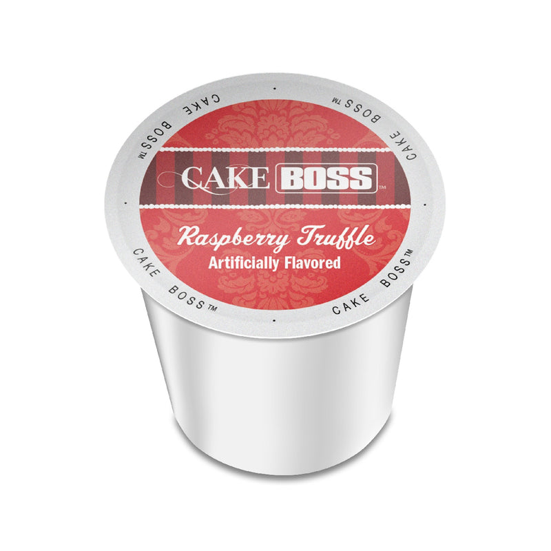 Cake Boss Raspberry Truffle Single-Serve Coffee Pods (Case of 96)