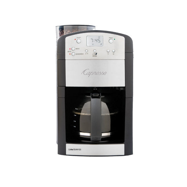 Capresso CoffeeTEAM GS 10-Cup Coffee Maker & Grinder