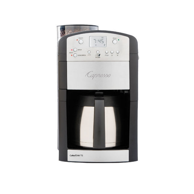 Capresso CoffeeTEAM PRO TS 10-Cup Coffee Maker & Grinder