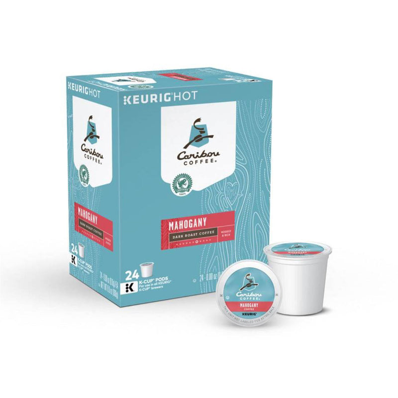 Caribou Mahogany K-Cup® Recyclable Coffee Pods (Case of 96)