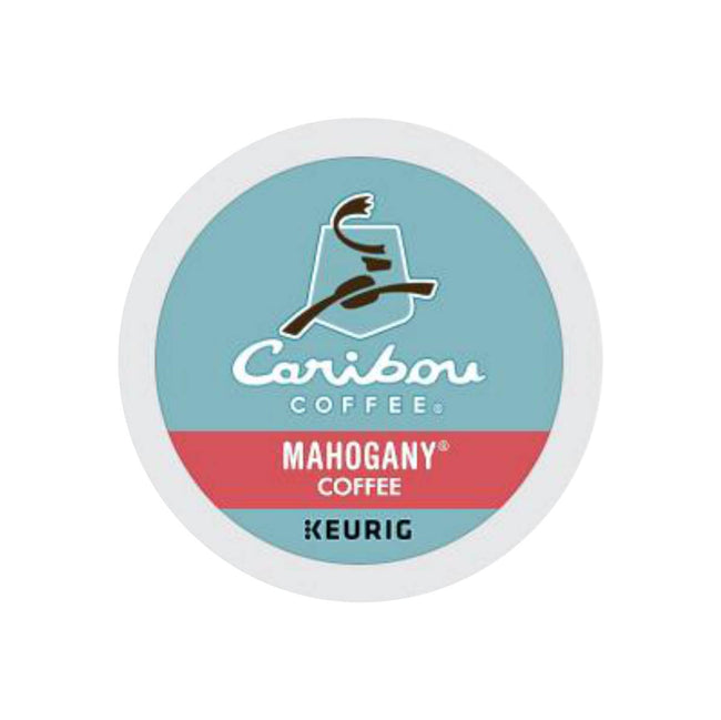 Caribou Mahogany K-Cup® Recyclable Coffee Pods (Box of 24)