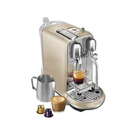 * OFFER * Nespresso by Breville Creatista Brewer Champagne