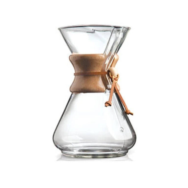 Chemex Classic 10 Cup Manual Pour Over Coffee Maker