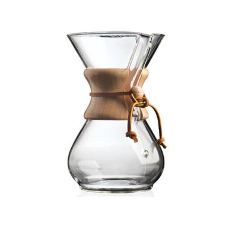 Chemex Classic 6 Cup Manual Pour Over Coffee Maker