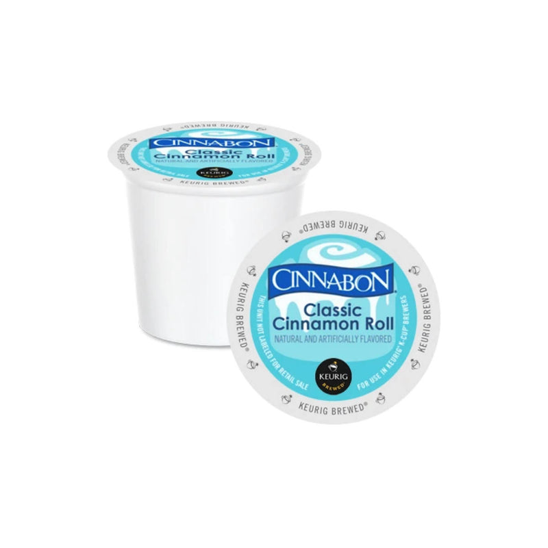 Cinnabon Classic Cinnamon Roll K-Cup® Recyclable Pods (Case of 96)