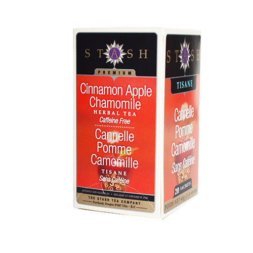 Stash: Cinnamon Apple Chamomile Tea Bags (20 Pack)