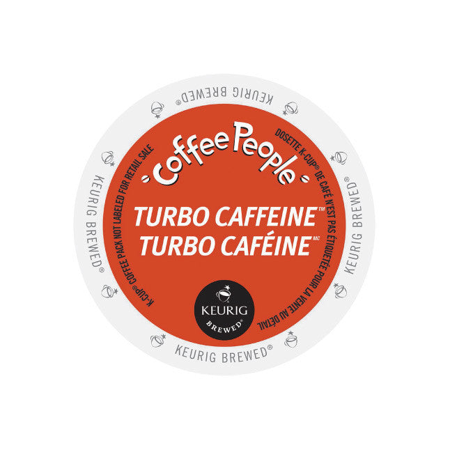 Coffee People Jet Fuel/Turbo Caffeine K-Cup® Pods (Box of 24)