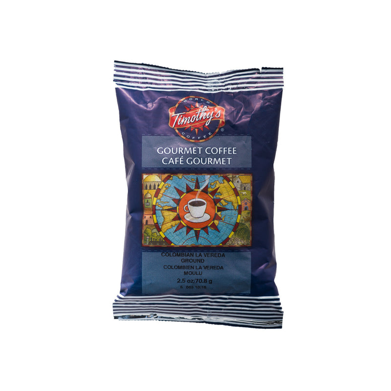 Timothy's: Colombian La Vereda Fraction Pack (24x2.5oz)