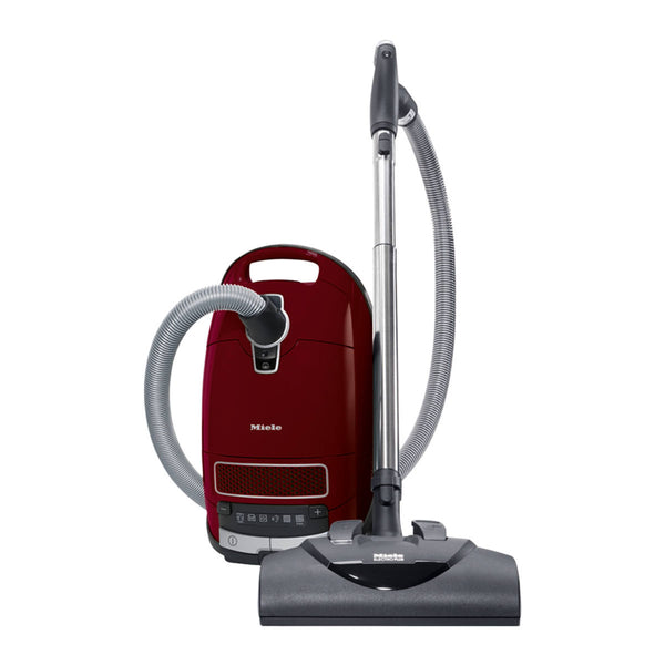 Miele Complete C3 Cat & Dog Canister Vacuum Cleaner (Tayberry Red)