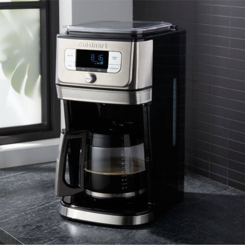 Cuisinart® Burr Grind & Brew™ 12-Cup Automatic Coffee Maker DGB-800