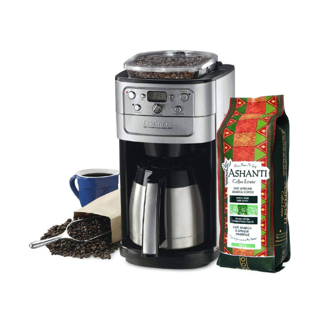 Cuisinart® Burr Grind & Brew™ Thermal 12-Cup Automatic Coffee Maker DGB-900BCC + Free Ashanti Coffee Beans