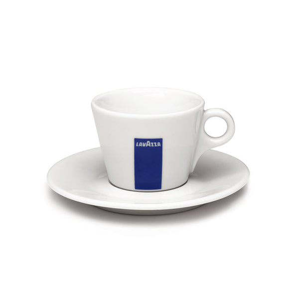 Lavazza Cappuccino Cups & Saucers (Set of 6)