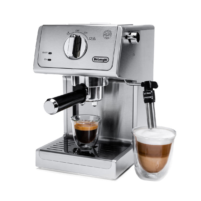DeLonghi 15 Bar Espresso & Cappuccino Machine ECP3630 (Stainless Steel)