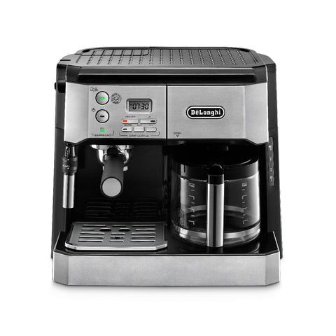DeLonghi Combination Espresso Machine & 10-Cup Drip Coffee Maker BCO432