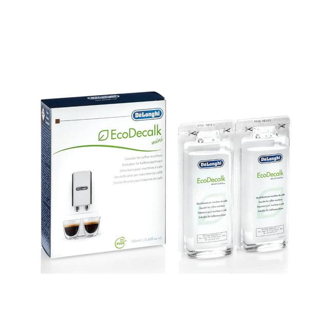 DeLonghi EcoDecalk Mini Descaling Solution Set 2x100mL (2x3.4 oz)