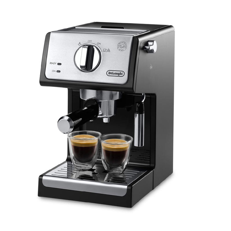 DeLonghi Manual Pump Espresso & Cappuccino Machine ECP3220 Black