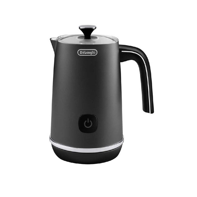 DeLonghi Distinta Electric Milk Frother Plus (EMF1BK) (Black Metal)
