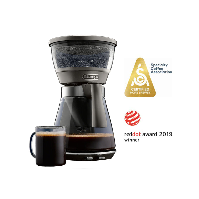 DeLonghi 3 in 1 Specialty Brewer Drip Coffee Maker ICM17270