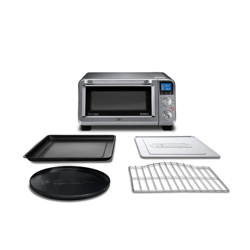 DeLonghi Livenza Compact Digital Convection Toaster Oven EO141150M (Stainless Steel)