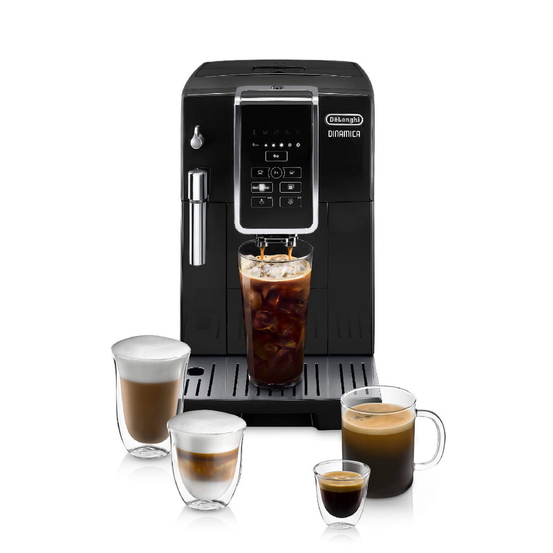 DeLonghi Dinamica Super Automatic Espresso & Coffee Machine (ECAM35020B  / Black)