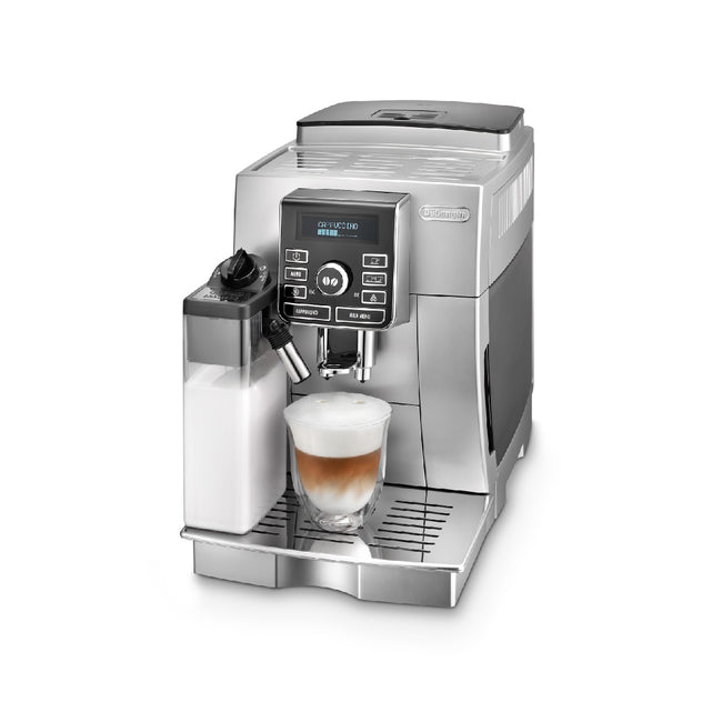 DeLonghi Magnifica Digital Super Automatic Coffee Machine with LatteCrema System (ECAM25462S) - REFURBISHED