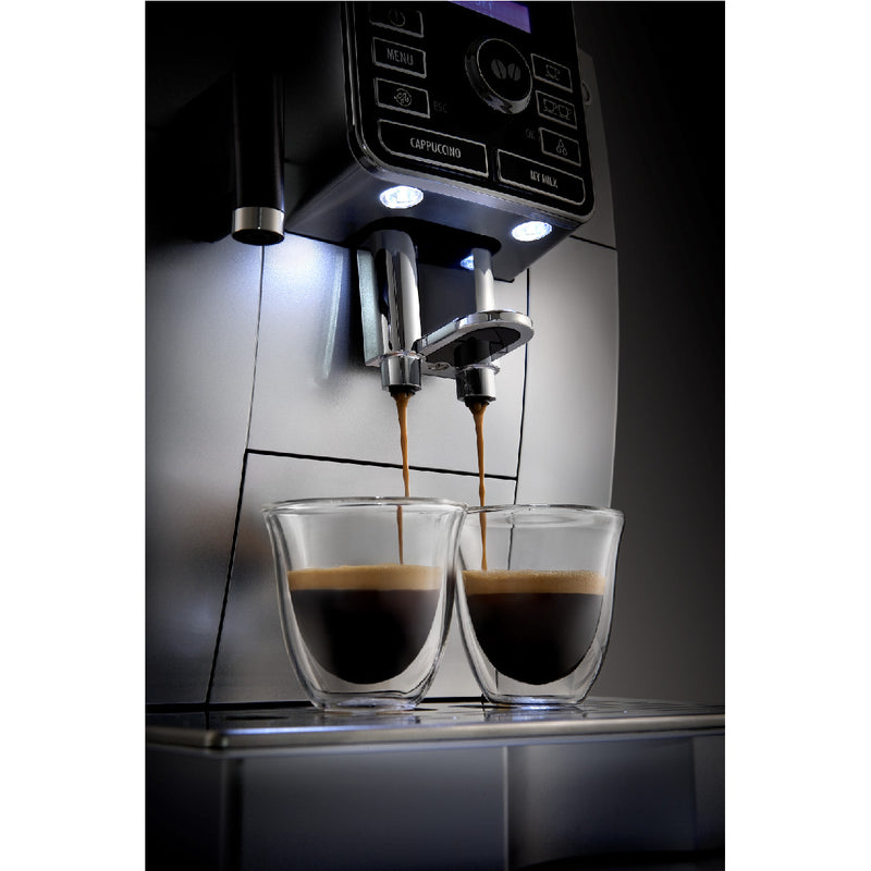 DeLonghi Digital Super Automatic Coffee Machine with LatteCrema System (ECAM25462S)