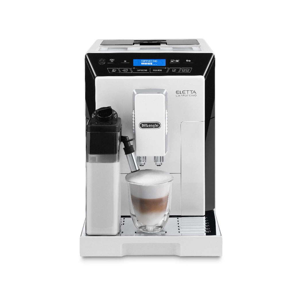 * NEW * DeLonghi Eletta Super Automatic Espresso Machine (ECAM44660W / White)