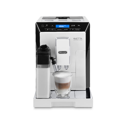 DeLonghi Eletta Super Automatic Espresso Machine (ECAM44660W / White)