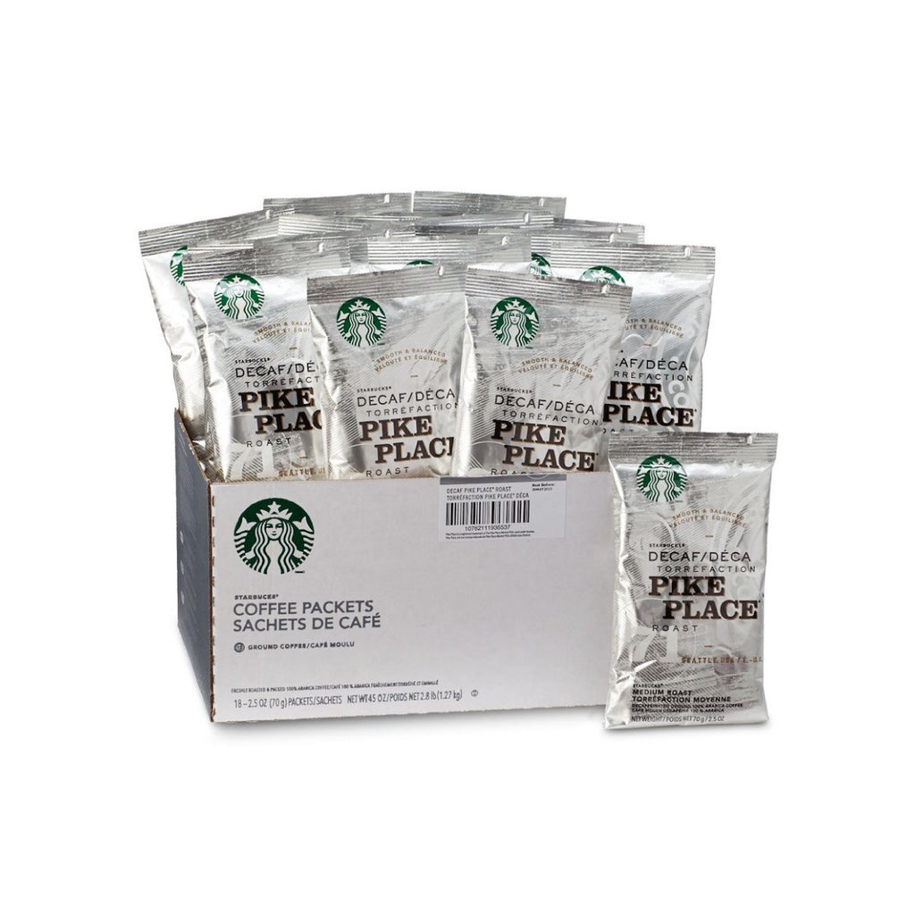 Starbucks Decaf Pike Place Fraction Pack