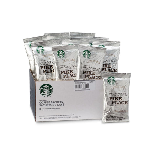 Starbucks: Decaf Pike Place Fraction Pack (18x2.5oz)
