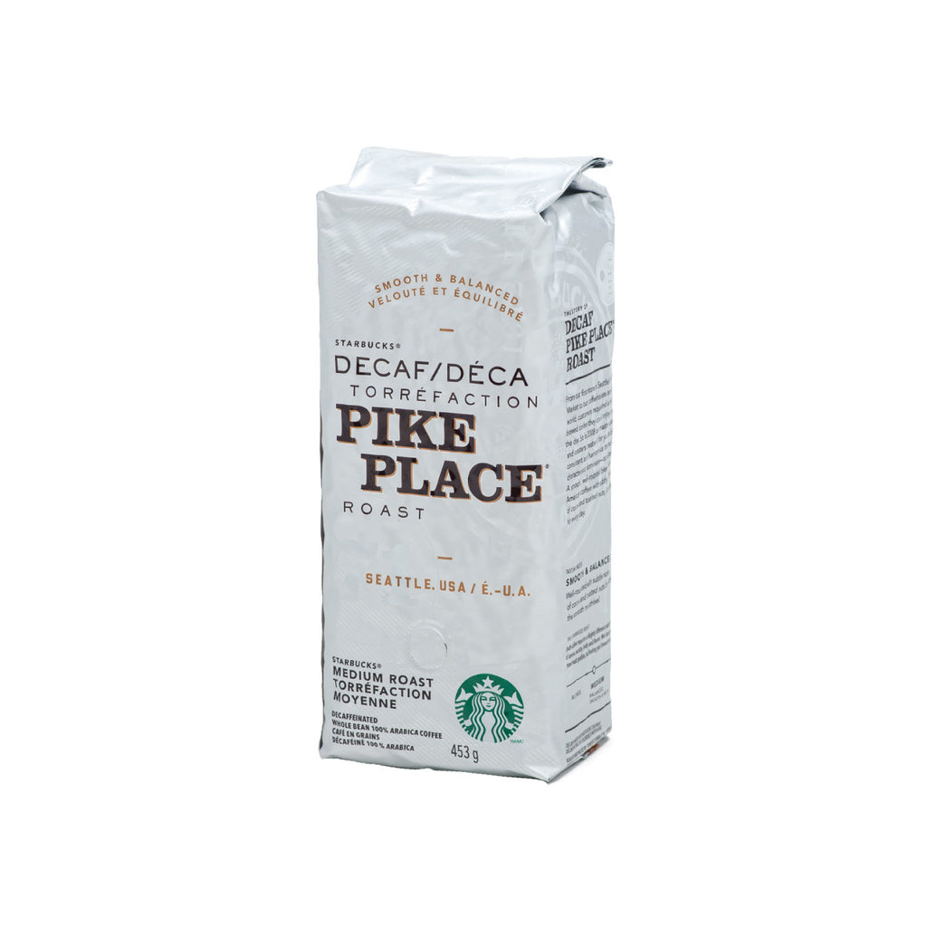 Starbucks Decaf Pike Place Coffee Beans