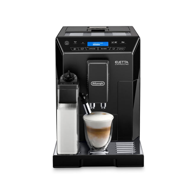 DeLonghi Eletta Cappuccino Super Automatic Espresso Machine ECAM44660B (Black)