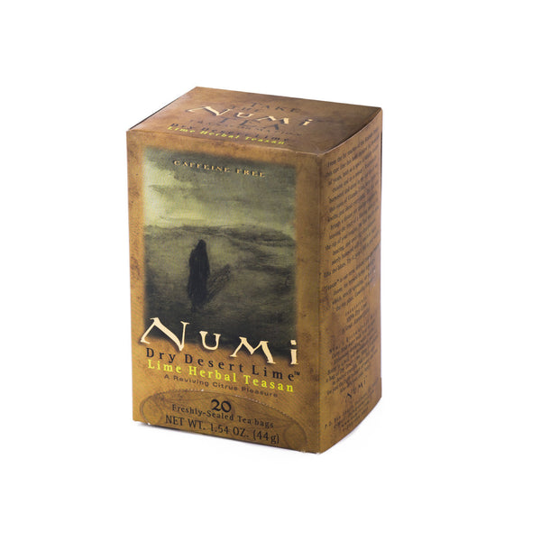 Numi Organic Tea: Dry Desert Lime Tea Bags (18 Pack)