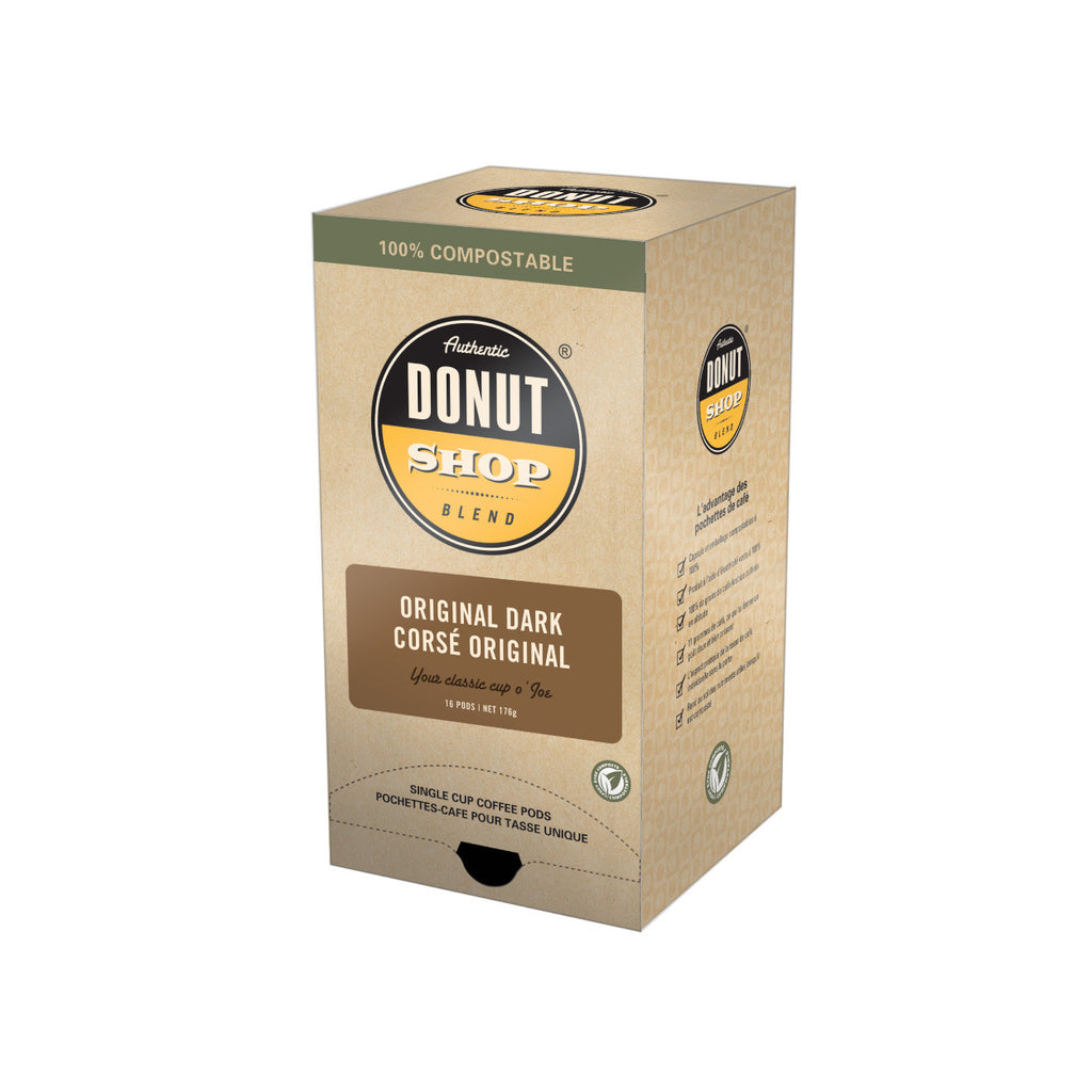 Authentic Donut Shop Blend Dark Roast Pods