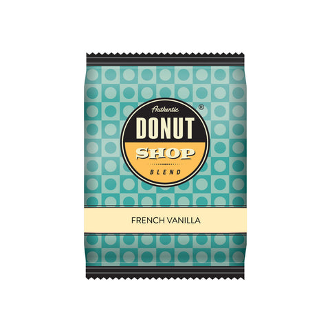 Authentic Donut Shop French Vanilla Fraction Packs