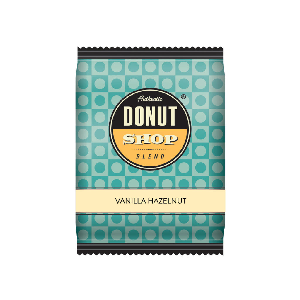 Authentic Donut Shop Vanilla Hazelnut Fraction Packs