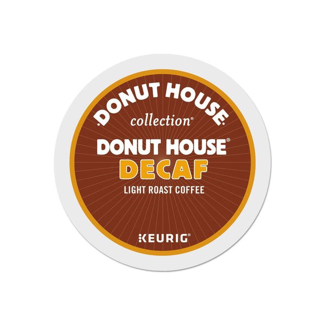 Donut House Collection Decaf Donut House K-Cup® Pods (Case of 96)