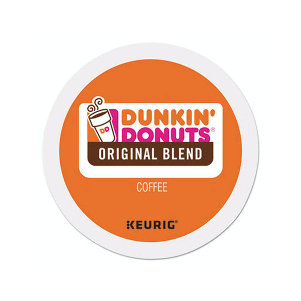 Dunkin' Donuts Original Blend K-Cup® Recyclable Pods (Case of 96)