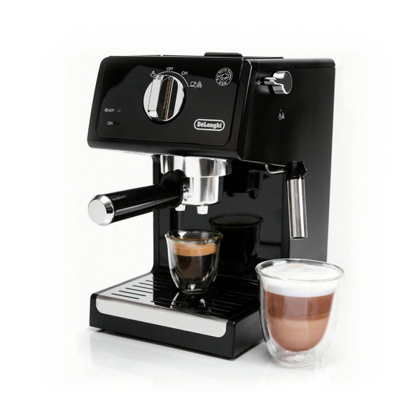 DeLonghi Manual Pump Espresso & Cappuccino Machine ECP3120 Black