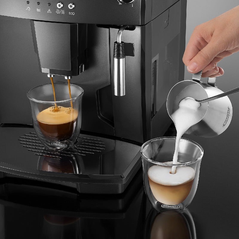 DeLonghi ESAM04110B Milk Drinks Cappuccino