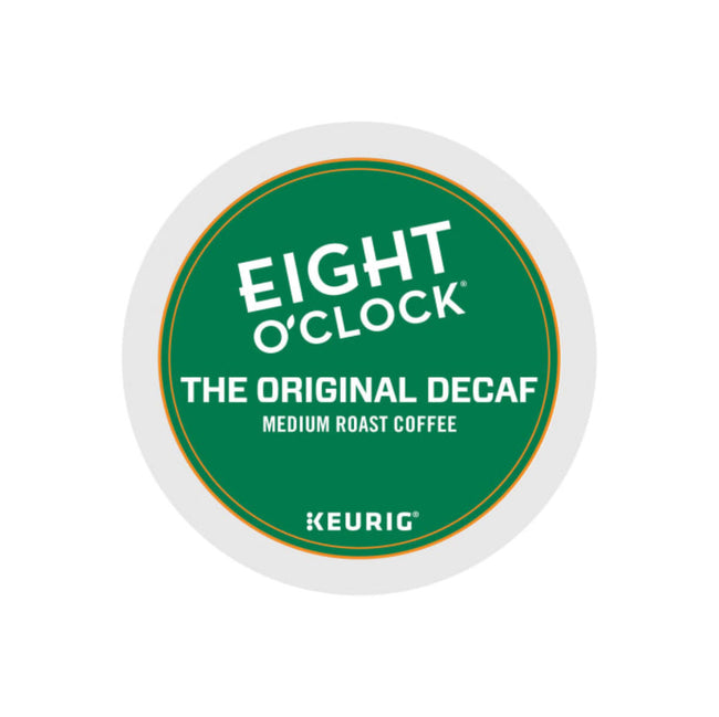 Eight O'Clock Decaf Original Blend K-Cup® Recyclable Coffee Pods (Box of 24)
