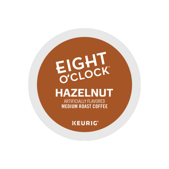 Eight O'Clock Hazelnut K-Cup® Recyclable Coffee Pods (Box of 24)