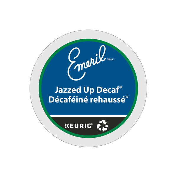 Emeril's Decaffeinated Jazzed Up K-Cup® Recyclable Pods (Case of 96)