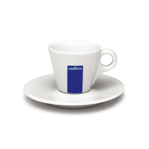 Lavazza Espresso Cups & Saucers (Set of 12)