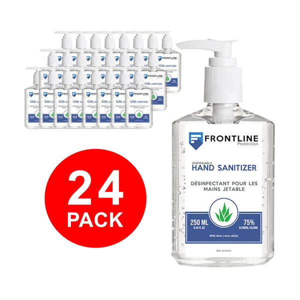 Frontline Protection Hand Sanitizer Gel (Case of 24 Bottles)