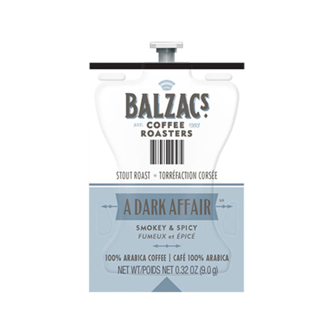 Flavia Balzac's A Dark Affair Coffee Freshpacks (Case of 76)