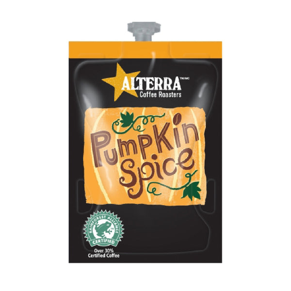 * SEASONAL * Flavia Alterra Pumpkin Spice Medium Roast Coffee Freshpacks (Case of 80)