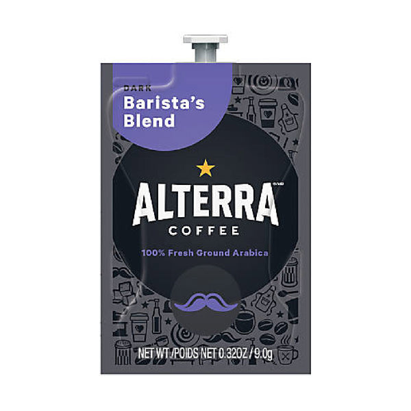 Flavia Alterra Barista's Blend Dark Roast Coffee Freshpacks (Case of 100)