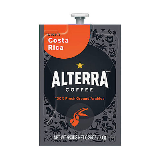 Flavia Alterra Costa Rica Light Roast Coffee Freshpacks (Case of 100)