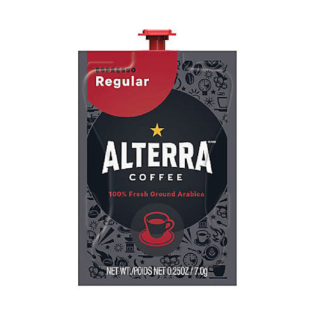 Flavia Alterra Espresso Dark Roast Coffee Freshpacks (Case of 80)